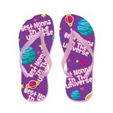 Best Nonna in the Universe Flip Flops