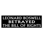 Boswell Wrong for Congress Bumper Sticker