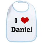 I Love Daniel Bib