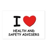 I love health and safety advisers Postcards (Packa