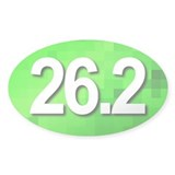 Super Unique 26.2 (green version) Decal