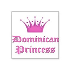 Dominican Princess Rectangle Sticker