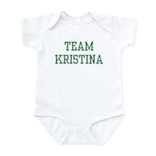 TEAM KRISTINA  Infant Bodysuit