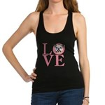 love.png Racerback Tank Top