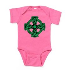 Celtic Cross Baby Bodysuit