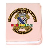 Army - 3rd Battalion, 8th Infantry w SVC Ribbons b