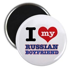 I love my Russian Boyfriend Magnet