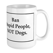 Cute Pit bull rescue Mug