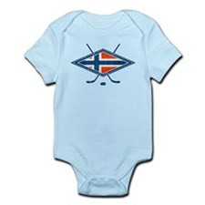 Norsk Ishockey Flag Body Suit