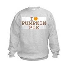 I Heart Pumpkin Pie Sweatshirt