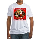 Santa's Workshop Fitted T-Shirt