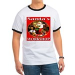 Santa's Workshop Ringer T