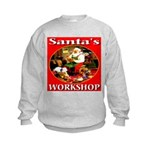 Santa's Workshop Kids Sweatshirt