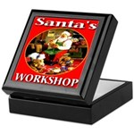 Santa's Workshop Keepsake Box