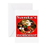 Santa's Workshop Greeting Cards (Pk of 10)