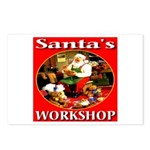 Santa's Workshop Postcards (Package of 8)