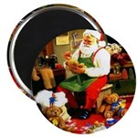 Santa's Workshop Magnet