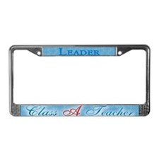 Class A Teacher License Plate Frame