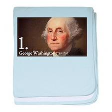 George Washington baby blanket