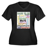 """Dare to Be"" Plus Size T-Shirt"