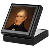 William Henry Harrison Keepsake Box