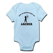 Archer vector designs Infant Bodysuit