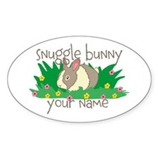 Personalized Snuggle Bunny Decal