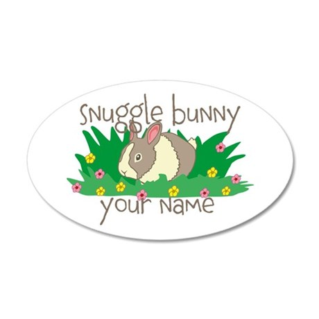 Personalized Snuggle Bunny Wall Decal
