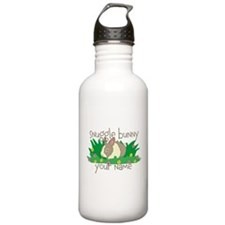 Personalized Snuggle Bunny Water Bottle