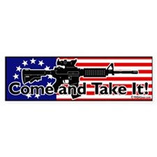Come and Take It! Bumper Bumper Sticker