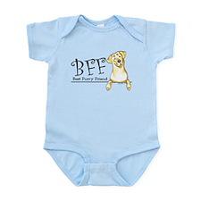 Yellow Lab BFF Infant Bodysuit