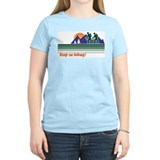 Keep on Hiking Women's Pink T-Shirt