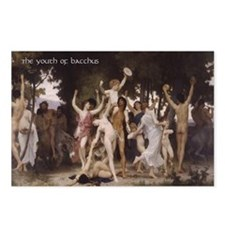 Bacchus 4 New Year's Postcards (Package of 8)