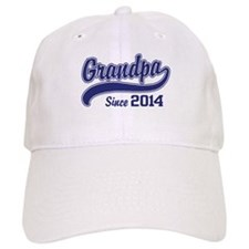 Grandpa Since 2014 Hat