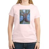 Magical Womb Tree Ash Grey T-Shirt