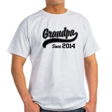 Grandpa Since 2014 T-Shirt