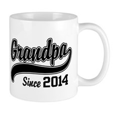 Grandpa Since 2014 Coffee Mug
