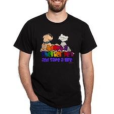 Adopt Shelter Pet (Rainbow) T-Shirt