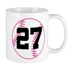 Softball Player Number 27 Mug