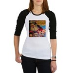 Merry Christmas Santa Claus Jr. Raglan