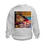 Merry Christmas Santa Claus Kids Sweatshirt