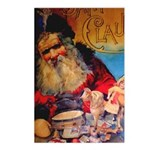 Merry Christmas Santa Claus Postcards (Package of