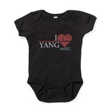 I Heart Yang - Grey's Anatomy Baby Bodysuit