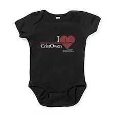 I Heart CristOwen - Grey's An Baby Bodysuit