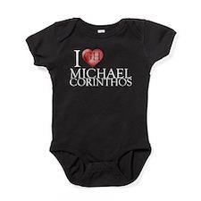 I Heart Michael Corinthos Baby Bodysuit