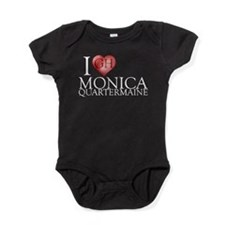 I Heart Monica Quartermaine Baby Bodysuit
