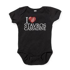 I Heart Stavros Cassadine Baby Bodysuit