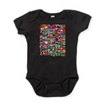 Parade of Nations Baby Bodysuit