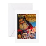 Merry Christmas Santa Claus Greeting Cards (Packag