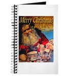 Merry Christmas Santa Claus Journal